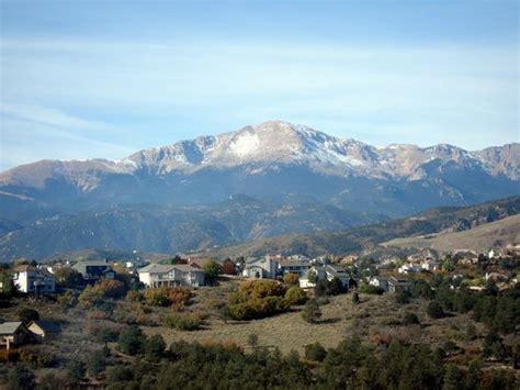 El Paso Colorado Search Colorado Springs Pictures Traveller Photos Of Colorado Springs El Paso County