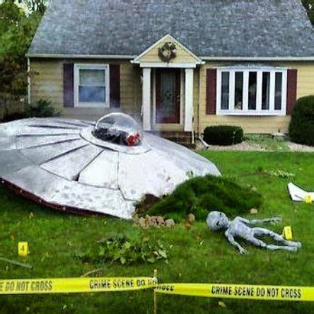 Home Lawn Decoration by Cool Yard Decoration Ufo Space Ship
