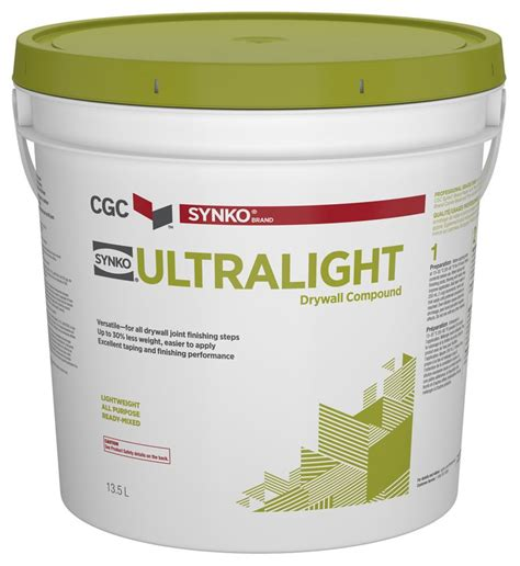 synko ultralight drywall compound the home depot canada