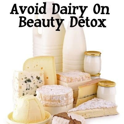 Dairy Detox by Dr Oz The Detox Foods Review Avoid Dairy On