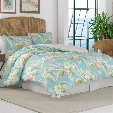 tommy bahama beachcomber 4 piece king comforter set citrus