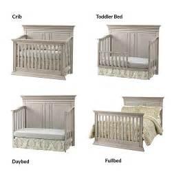 Baby Cache Crib Reviews Baby Cache Vienna 4 In 1 Convertible Crib Ash Gray Ebay