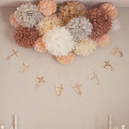 How To Make Tissue Paper Balls For Wedding - 10pcs 10 quot 25cm tissue paper pom poms flower balls