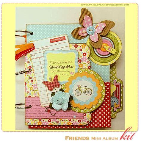 scrapbook album layout paisleys polka dots may 2011 scrapbook layout mini
