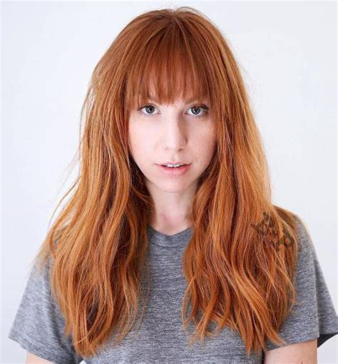 how to cut your hair long in front 60 super chic hairstyles for long faces to break up the length