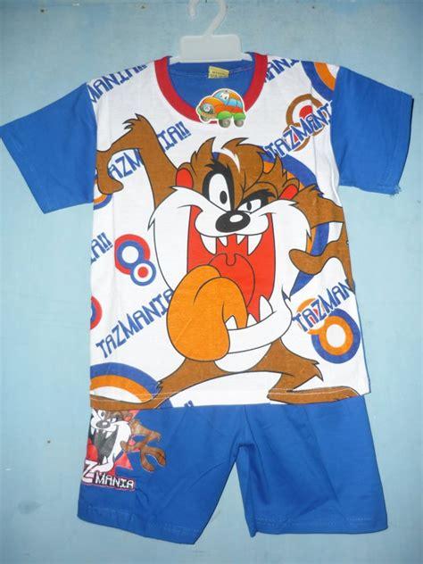 Setelan Grosir Anak Anak Banana Seri Ukuran 10 12 14 jual baju anak setelan seri tasmania grosir murah baju anak grosir murah