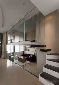 modern small apartment with loft bedroom 2 idesignarch interior design architecture