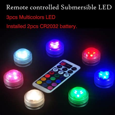 small battery operated lights wireless remote controller cake decoration small