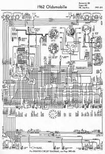 wiring diagram for 1962 oldsmobile dynamic 88 88 98 and starfire 59951 circuit and