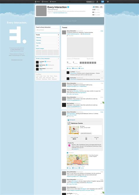 twitter layout vector free new twitter profile page gui psd smashing magazine