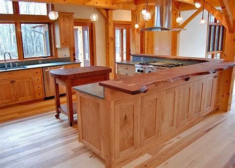 Lighting Over Kitchen Sink live edge fine woodworking craftsman kitchen new