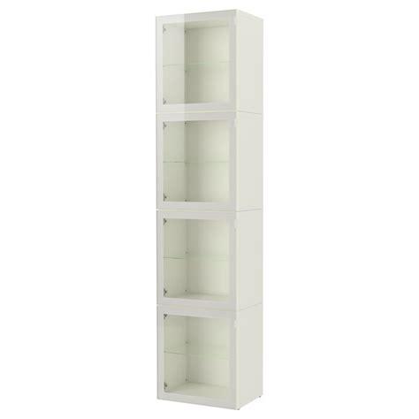 besta glass door best 197 storage combination with glass door white glassvik