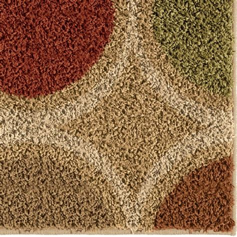 throw rugs orian impressions shag 3701 loop multi area rug payless rugs impressions shag collection by