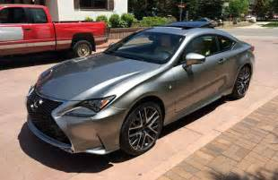 lexus rc f sport in atomic silver clublexus lexus forum discussion