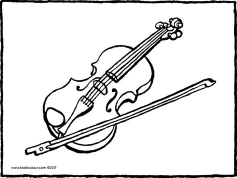 coloring pages of string instruments music colouring pages kiddi kleurprentjes