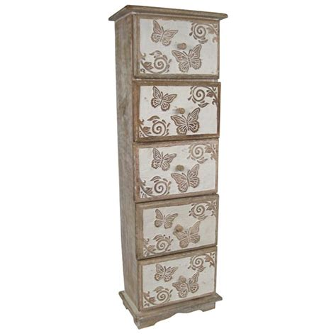 Butterfly Chest Of Drawers by Butterfly Design 5 Drawer Chest Ferailles