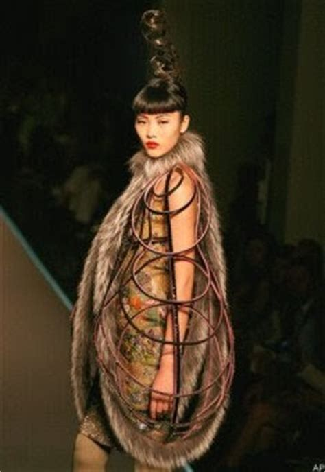 Haute Couture Jean Paul Gaultier Autumnwinter 2008 Collection by Kayan S Design World Jean Paul Gaultier S Feathered And