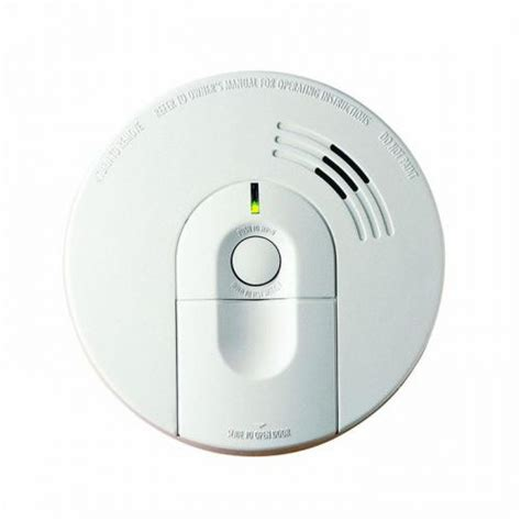 resetting battery backup kidde 21006377 ac wire in combination carbon monoxide and