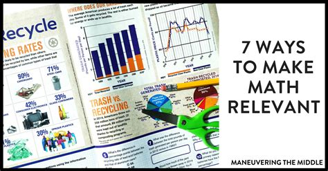 7 Ways To Make A Notice You In School by 7 Ways To Make Math Relevant Maneuvering The Middle