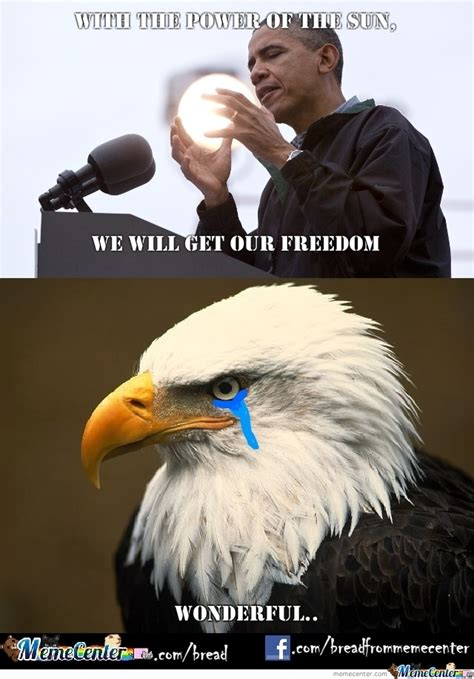 Funny Eagles Meme - freedom eagle approves by bread meme center