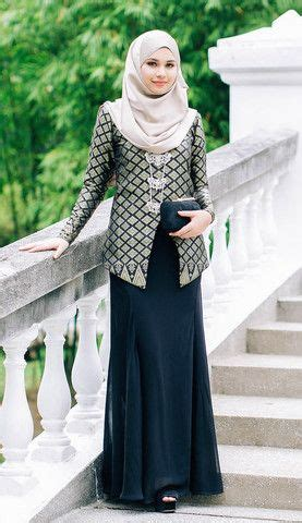 Gamis Maxi Dress Zulaika Songket Brown 1709 287 best images about baju kurung on maxi