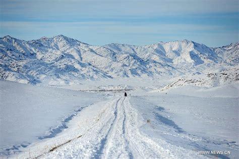 imagenes de paisajes con nieve paisaje hermoso de nieve en xinjiang de china