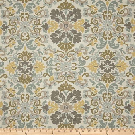 waverly damask curtains waverly folk damask seaspray discount designer fabric