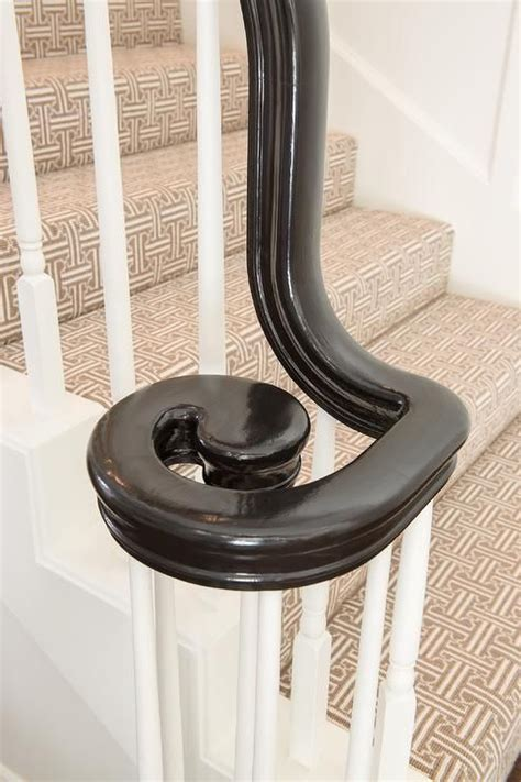 black staircase banister 25 best ideas about black banister on pinterest staircase remodel bannister ideas
