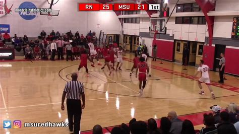 montclair state university mens basketball highlights part  youtube