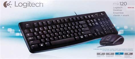 Keyboard Pc Logitech logitech corded keyboard and mouse mk120 fusertech