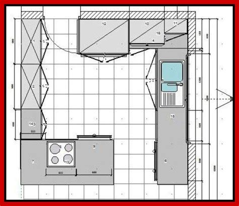 Kitchen Design Layout Floor Plan | small kitchen floor plans houses flooring picture ideas