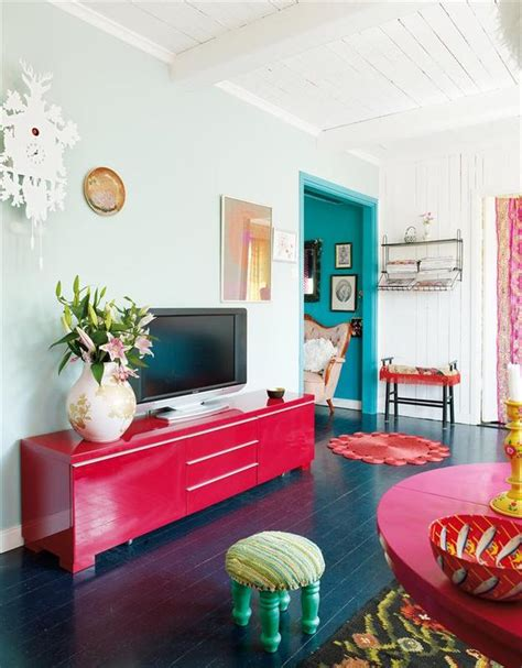 colorful interior bright colors for a bright home