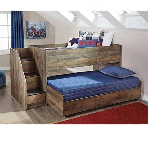 rent   signature design  ashley trinell twin trundle bed