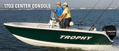 trophy boats pro package trophy fishing boats at fairlee marine