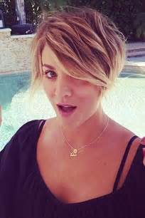 why did kaley cuoco cut hair kaley cuoco pixie cut hairstyle photos glamour com uk