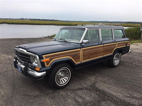 jeep wagoneer 1989 1989 jeep grand wagoneer for sale 2065249 hemmings
