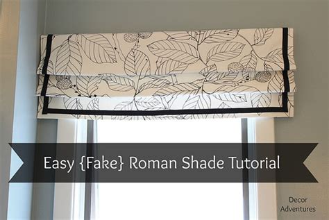 simple pattern for roman shades how to sew a roman shade easy roman shade fake roman