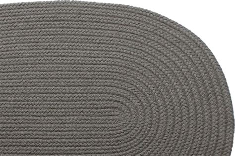gray braided rug solid gray braided rug