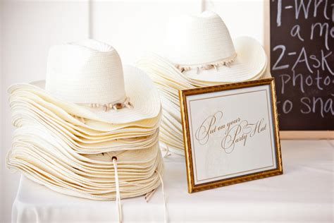 Wedding Guest Favors by Cowboy Hats For Wedding Guest Favors Onewed