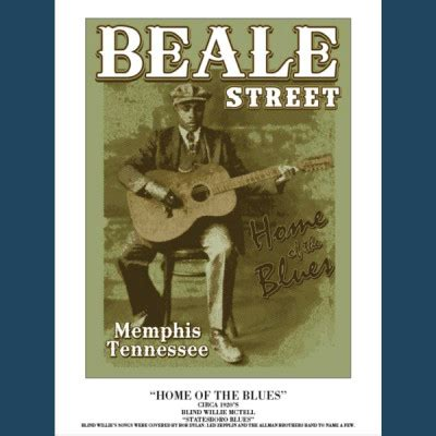 home of the blues beale gift shop