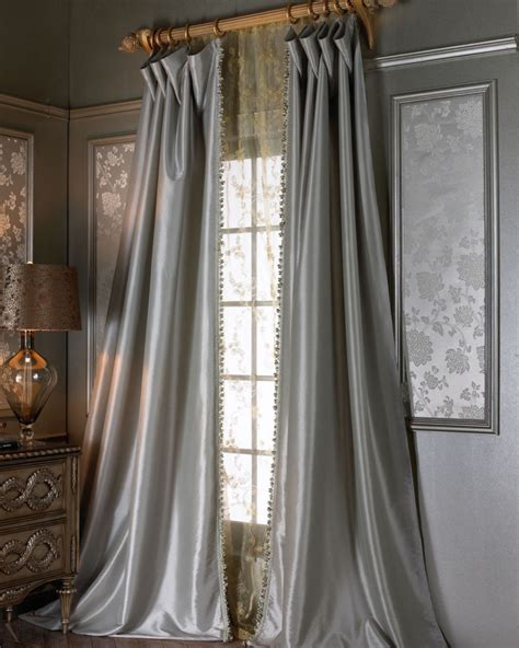 silk net curtains crystal palace silk drapery panel sweet dreams