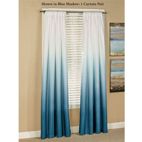 blue ombre curtains 25 best ideas about beach curtains on pinterest beach