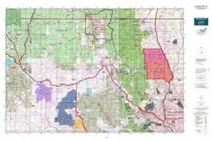 colorado elk unit map colorado gmu 511 map mytopo