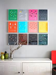 Colorful Home Decor Accessories by Diy Home Decor With Colorful Frame On Wall Olpos Design