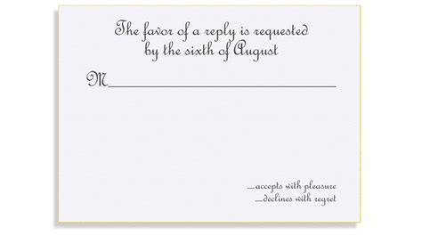 Wedding Invitation Reply Wording by Wedding Invitation Reply Card Wording Wedding Invitation