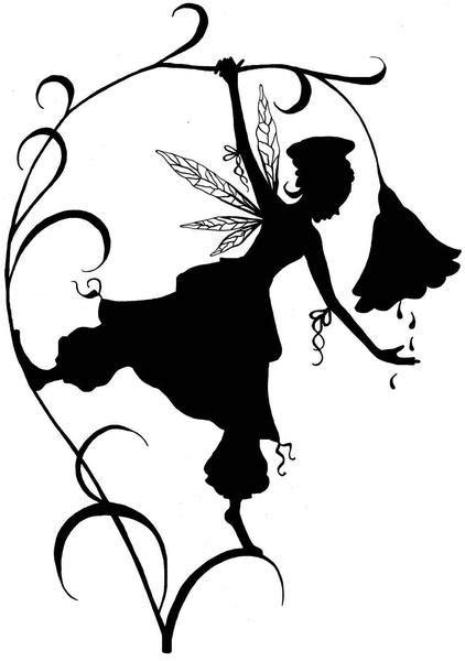lavinia stamps fairies fleur silhouette tupelodesignsllc