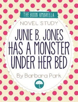 junie b jones has a monster under her bed 139 best images about junie b jones by barbara park on