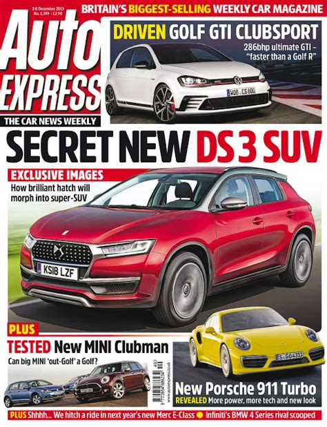 Auto Express by Auto Express 2 December 2015 187 Free Pdf Magazines For