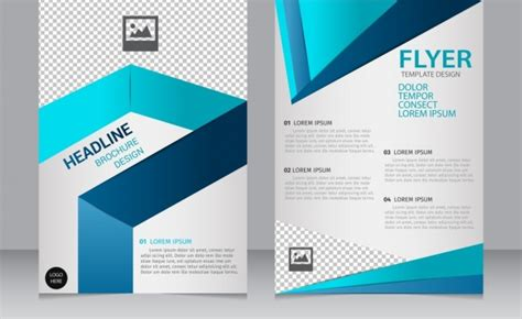 Brochure Templates Free Downloads by Brochure Free Vector 2 338 Free Vector For