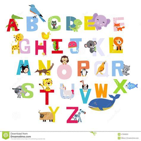 Gratis Illustratie S Brief Alfabet Alfabetisch Abc dierlijk alfabet vector illustratie afbeelding 47658353